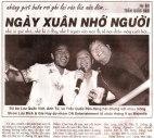 Một bài viết của Trần Quốc Bảo trên báo Xuân Diễm 2004 nhắc lại tình bạn của bộ ba Anh Tú, Lưu Quốc Việt và TQB