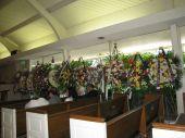 Hoa tang của thân hữu, đồng nghiệp tràn ngập trong nhà quàn