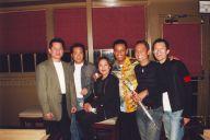 Sinh nhật lần đó của Quốc Việt ngày 17 tháng 3 năm 2002 tại Bleu Club rất vui. Từ trái sang phải: Nguyễn Thành Quốc, Anh Tú, Gia Huy, Diễm Phúc, Nhật Quân..