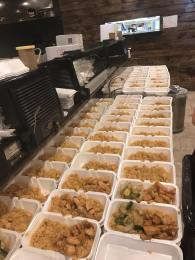 """""""My dad and uncle Binh own a restaurant in Southeast Texas and they were also affected by Harvey but the media doesn't cover it,"""" Keith said on Facebook. """"Today them, their staff and volunteers helped create over 1000 meals for victims, first responders, and other volunteers."""""""