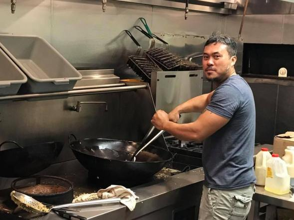 """My dad and uncle Binh own a restaurant in Southeast Texas and they were also affected by Harvey but the media doesn't cover it,"" Keith said on Facebook. ""Today them, their staff and volunteers helped create over 1000 meals for victims, first responders, and other volunteers."""