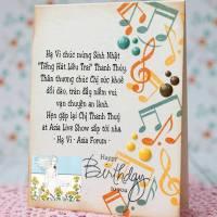 Chúc mừng sinh nhật Chị Thanh Thúy!